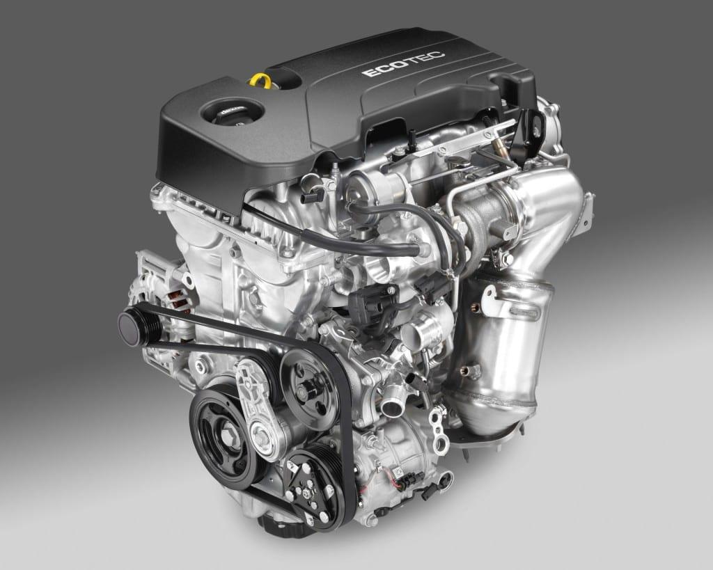 Ecotec 1.4L I-4 VVT DI Turbo (LE2)