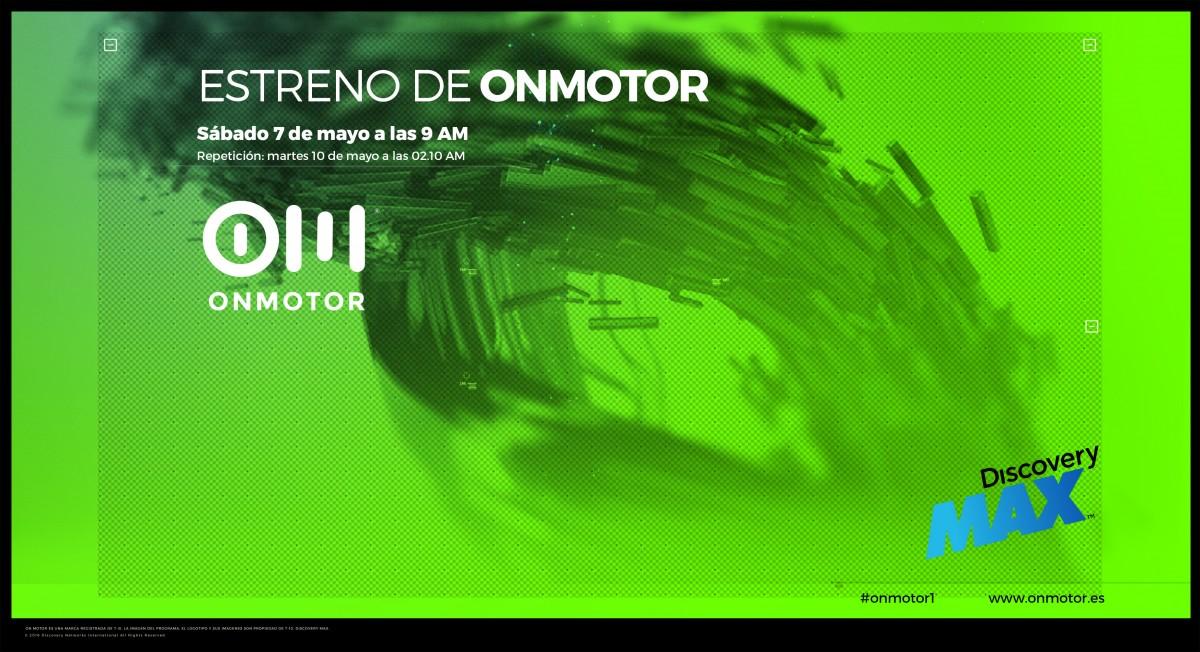 Lanzamiento OnMotor en Discovery Max