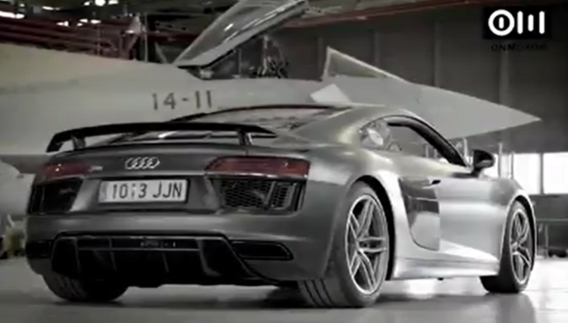 Audi R8 Plus vs Eurofighter