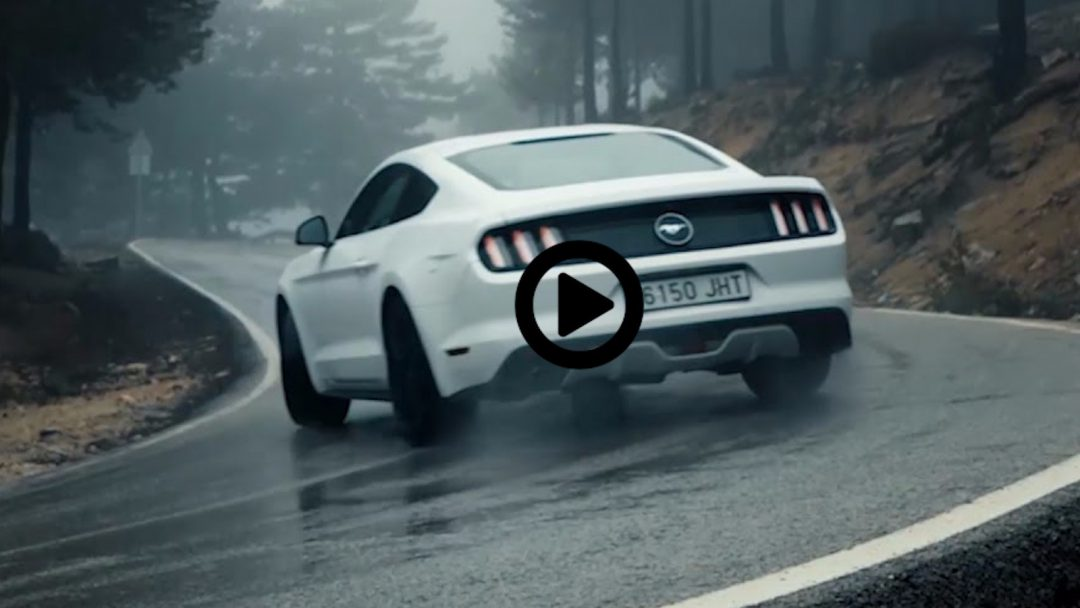 Ford Mustang: I'm singing in the rain…