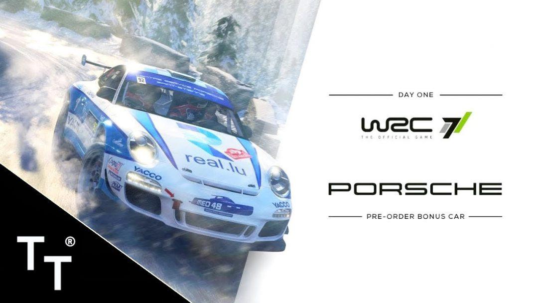WRC 7, Porsche 911 GT3 RS R-GT