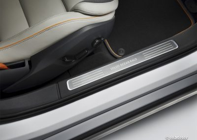 Volvo V90 Cross Country Volvo Ocean Race interior detail