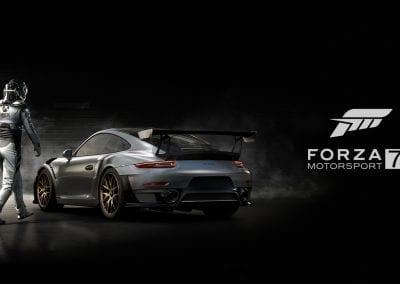 Forza Motorsport 7 se asocia con el Porsche 911 GT2RS