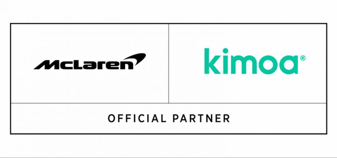 kimoa se convierte en socio oficial del equipo mclaren