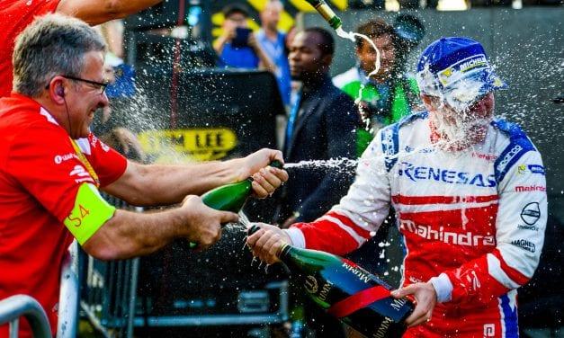 Abt gana la segunda carrera del E-Prix de Hong Kong y Rosenqvist se lleva los puntos