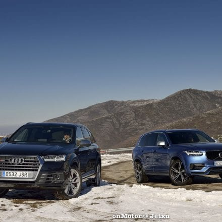 AUDI SQ7 vs VOLVO XC90 T8 R-Design