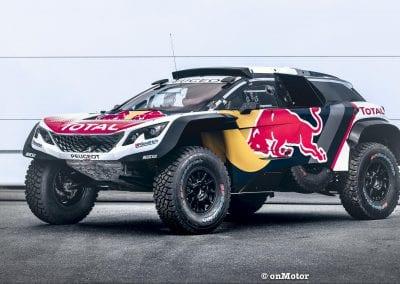 The Peugeot 3008DKR Maxi