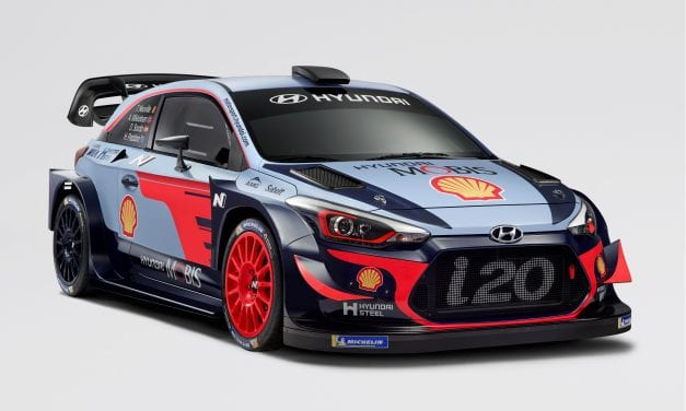 Hyundai i20 Coupe WRC 2018.