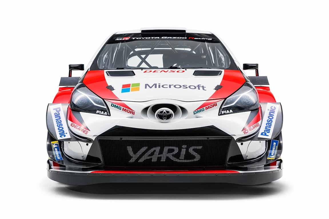 Toyota Gazoo Racing WRT presenta el Yaris WRC 2018