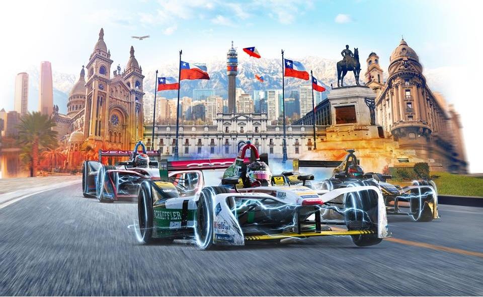 La Formula E llega a Chile con el E-Prix de Santiago.