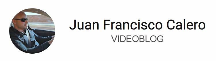 Juan Francisco Calero Videoblog YouTube