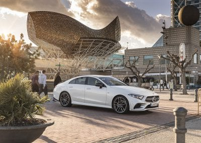 Der neue Mercedes-Benz CLS & Mercedes-AMG CLS 53 4MATIC+ ; Barcelona 2018 //The New Mercedes-Benz CLS & Mercedes-AMG CLS 53 4MATIC+ ; Barcelona 2018