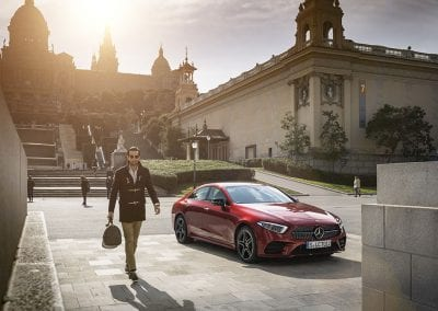 Der neue Mercedes-Benz CLS & Mercedes-AMG CLS 53 4MATIC+; Barcelona 2018 //