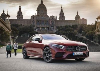 Der neue Mercedes-Benz CLS 450 4MATIC