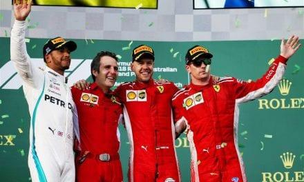 GP. de Australia de F1: Vettel sorprende y gana en Melbourne.