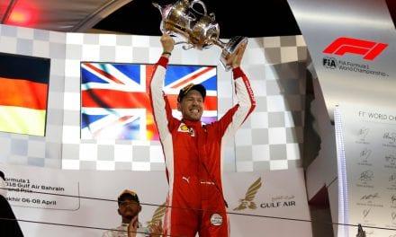 Sebastian Vettel consigue la victoria en el Gran Premio de Baréin
