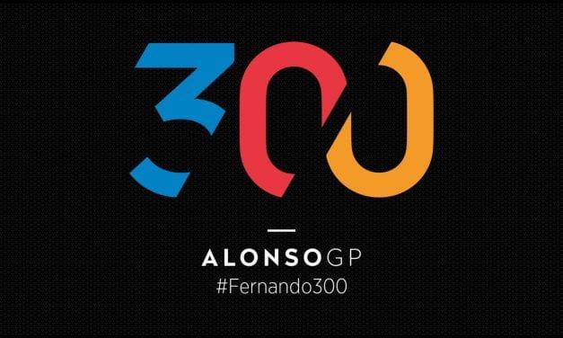 FERNANDO ALONSO – 300 GP'S DE HISTORIA