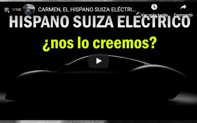 CARMEN, EL HISPANO SUIZA ELÉCTRICO