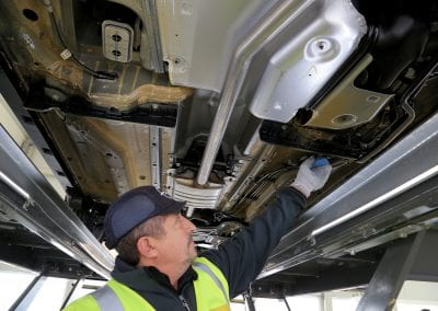 Comprobaciones técnicas en vehículos Opel GLP (2)