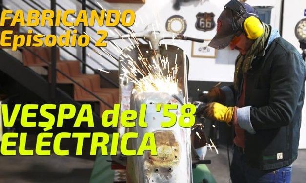 Convirtiendo Vespa del '58 en moto eléctrica
