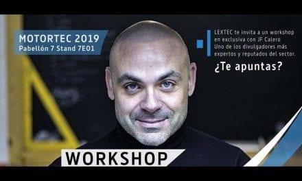Conferencia con JF Calero en MOTORTEC 2019