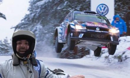 EL DÍA QUE VOLÉ EN UN POLO WRC