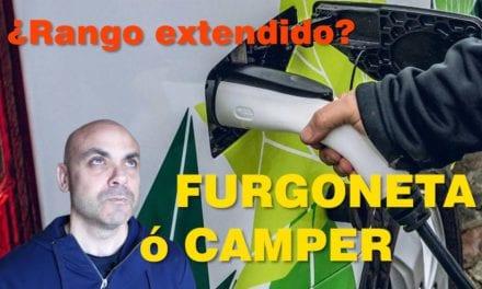 FURGO ó CAMPER eléctrica rango extendido FORD