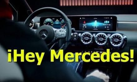 Jugando con el MBUX de Mercedes Benz