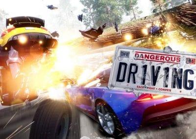 Dangerous Driving, el sucesor espiritual de Burnout