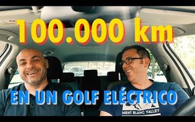 El E-Golf de Dani. 100.000 km a un coche eléctrico