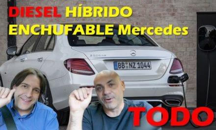 El diesel híbrido enchufable de Mercedes Benz