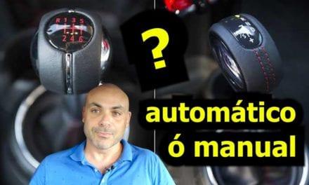 ¿AUTOMÁTICO o MANUAL?