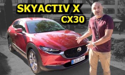 ¡CONDUZCO el NUEVO MAZDA CX-30 con SKYACTIV X!
