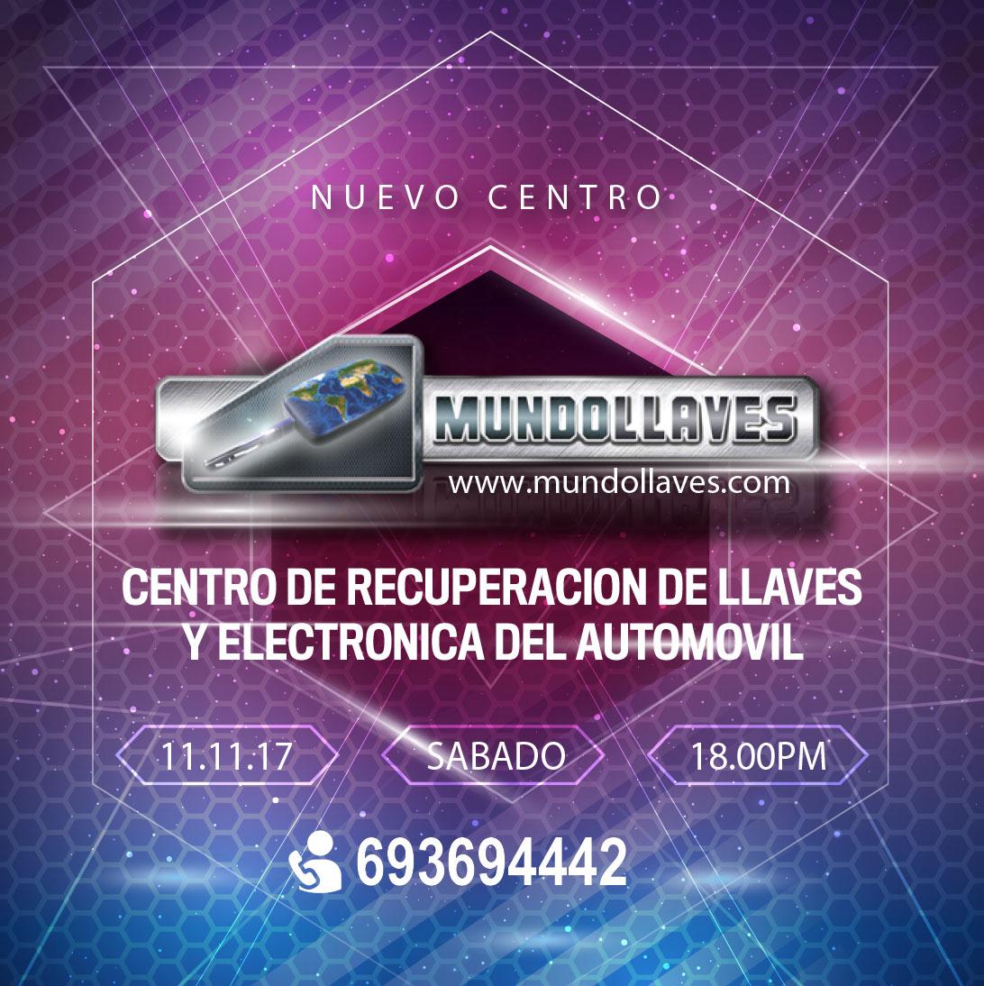 CENTRO DE RECUPERACION DE LLAVES Y ELECTRONICA DEL AUTOMOVIL MUNDOLLAVES