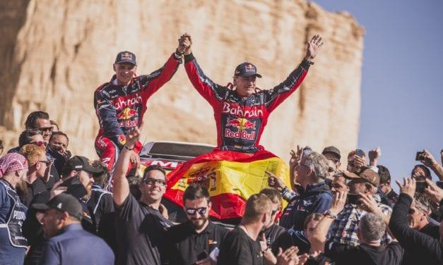 Carlos Sainz conquista su tercer Dakar a los 57 años