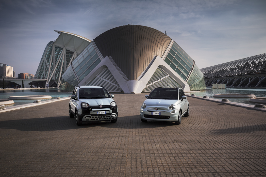 FIAT PANDA HYBRID & FIAT 500 HYBRID