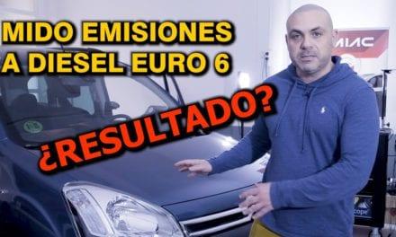 Medimos emisiones a un Diesel Euro6