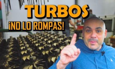 MOTOR TURBO • 5 ERRORES de USO que LO PUEDEN ROMPER
