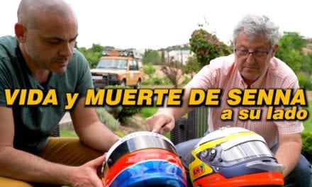 SI AYRTON SENNA HUBIERA LLEVADO ESTE CASCO, SEGUIRÍA VIVO