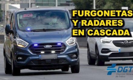 ATENCIÓN a FURGONETAS OCULTAS y RADARES EN CASCADA de la DGT