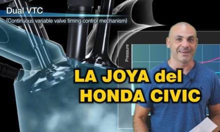 EL MOTOR 1.5 VTEC TURBO DEL HONDA CIVIC es HISTÓRICO