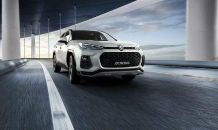Suzuki presenta su nuevo ACROSS