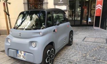 Nuevo Citroën Ami. La movilidad amiga 100% Eléctrico