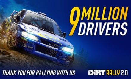 Dirt Rally 2.0 por encima de los 9 millones de jugadores