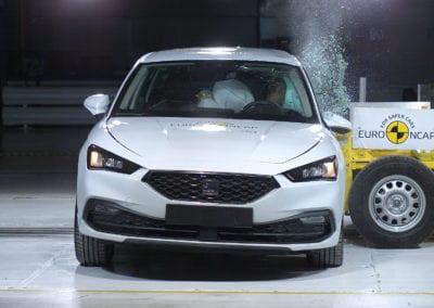 SEAT Leon 2020 crash test