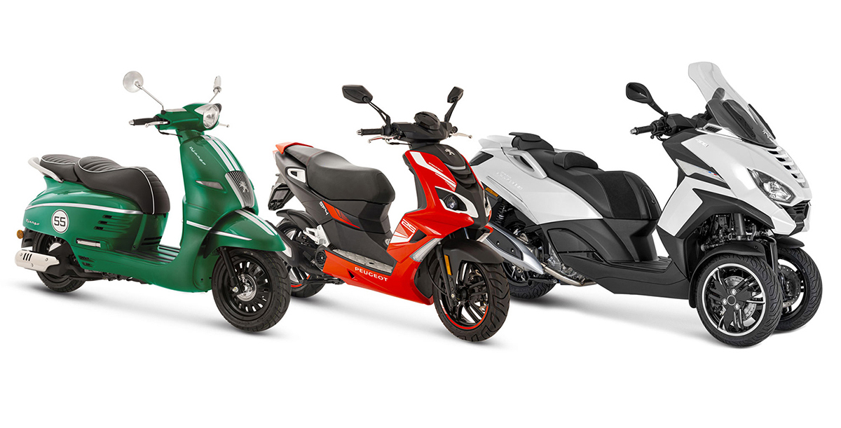 Peugeot Motocycles adapta su gama al EURO5