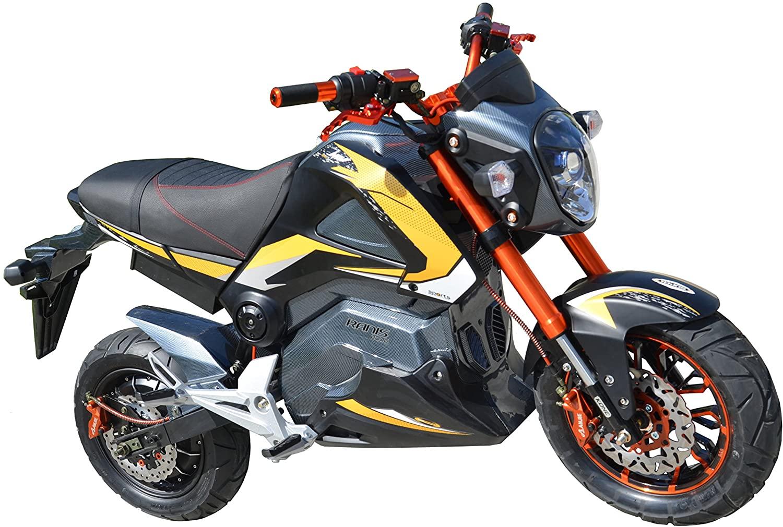 La moto Ranis es una moto eléctrica